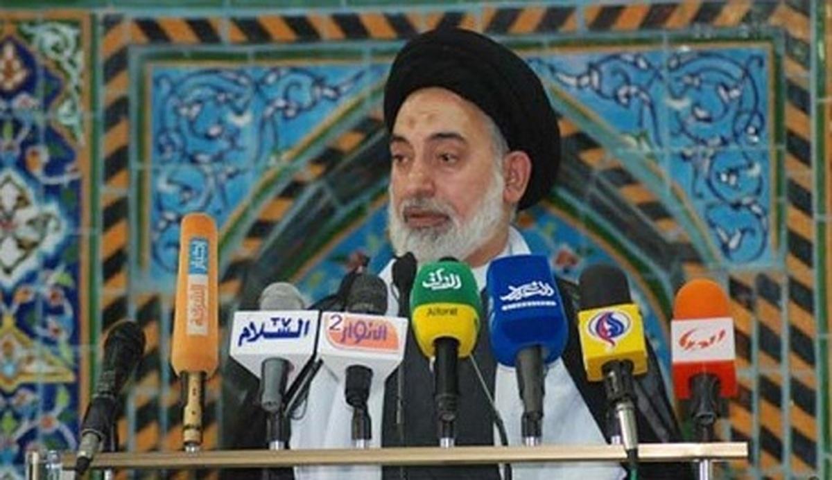 امام جمعه نجف:  از دولت می خواهیم که در تقسیم اراضی صادق باشد