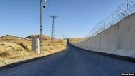 دیوار مرزی ترکیه با ایران تکمیل شد+ عکس