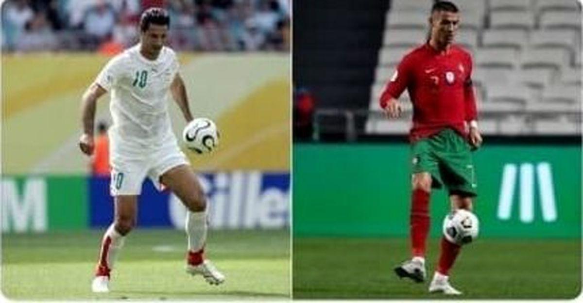 فیفا   |  رقابت علی دایی و رونالدو در نظرسنجی فیفا