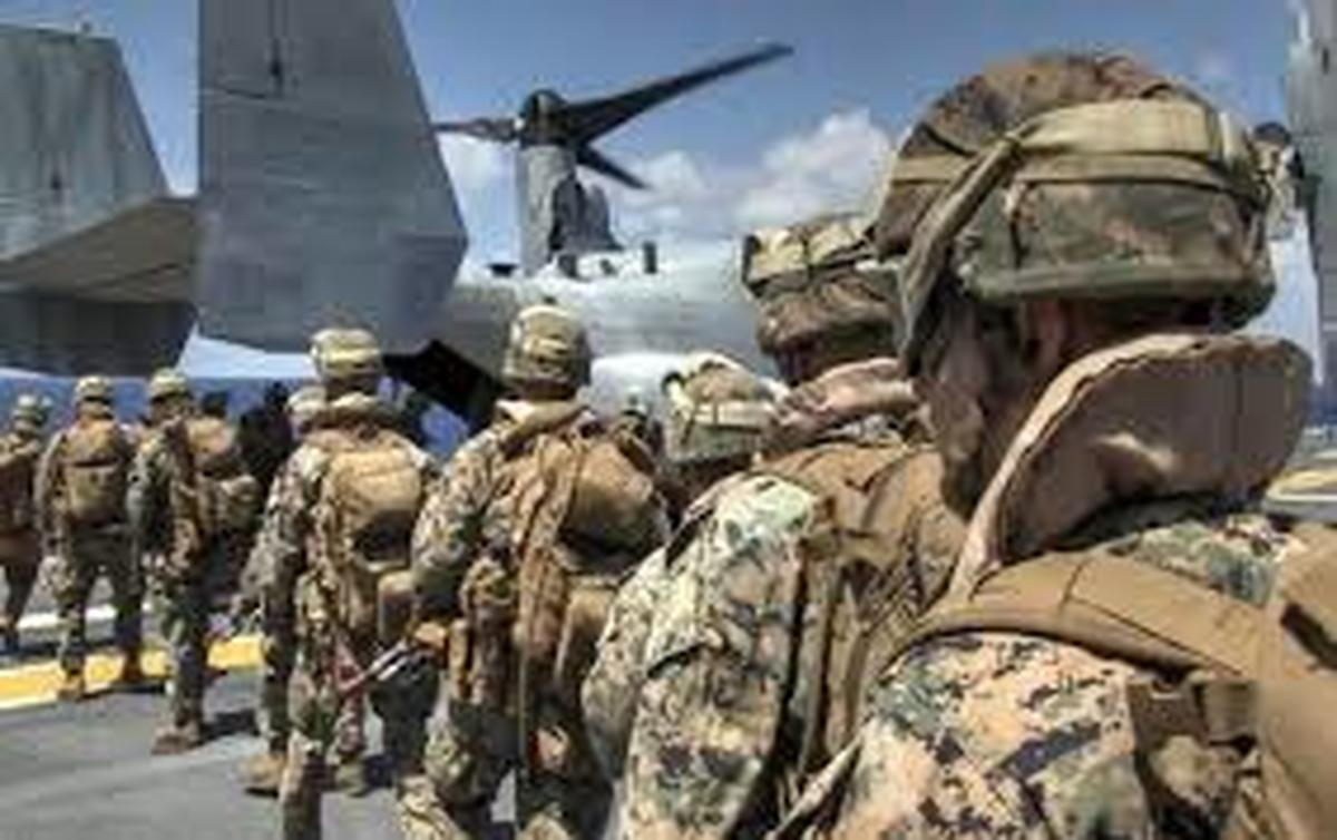 عراق  |  خروج نخستین گروه نظامیان آمریکایی آغاز شد