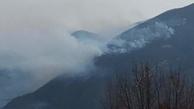 آتش در جنگل های توسکستان گلستان ۴ روزه شد