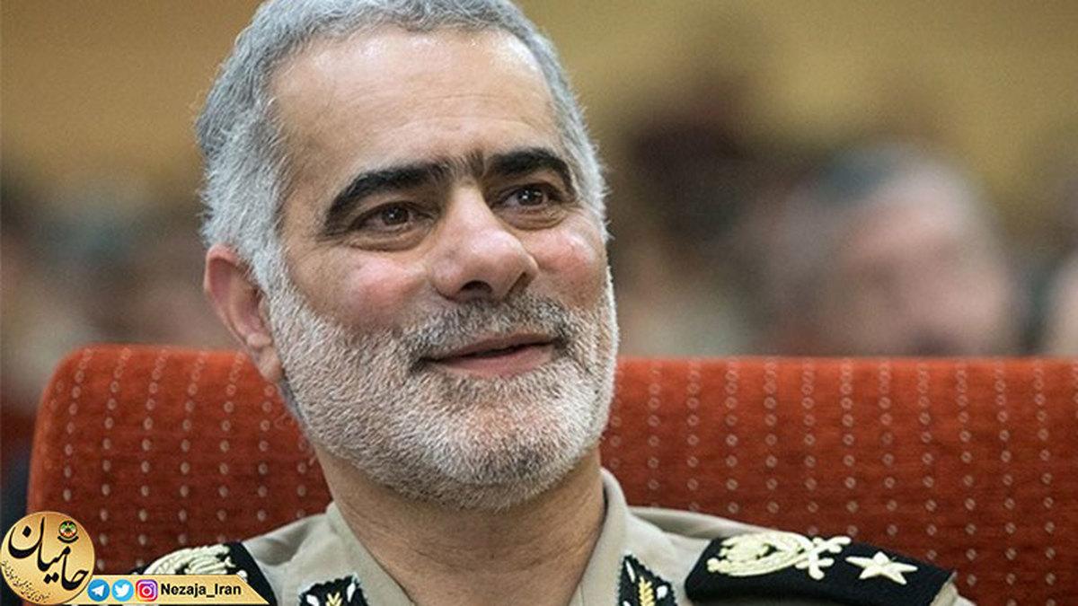 تبریک رئیس عقیدتی سیاسی ارتش به «سرتیپ خرمطوسی»