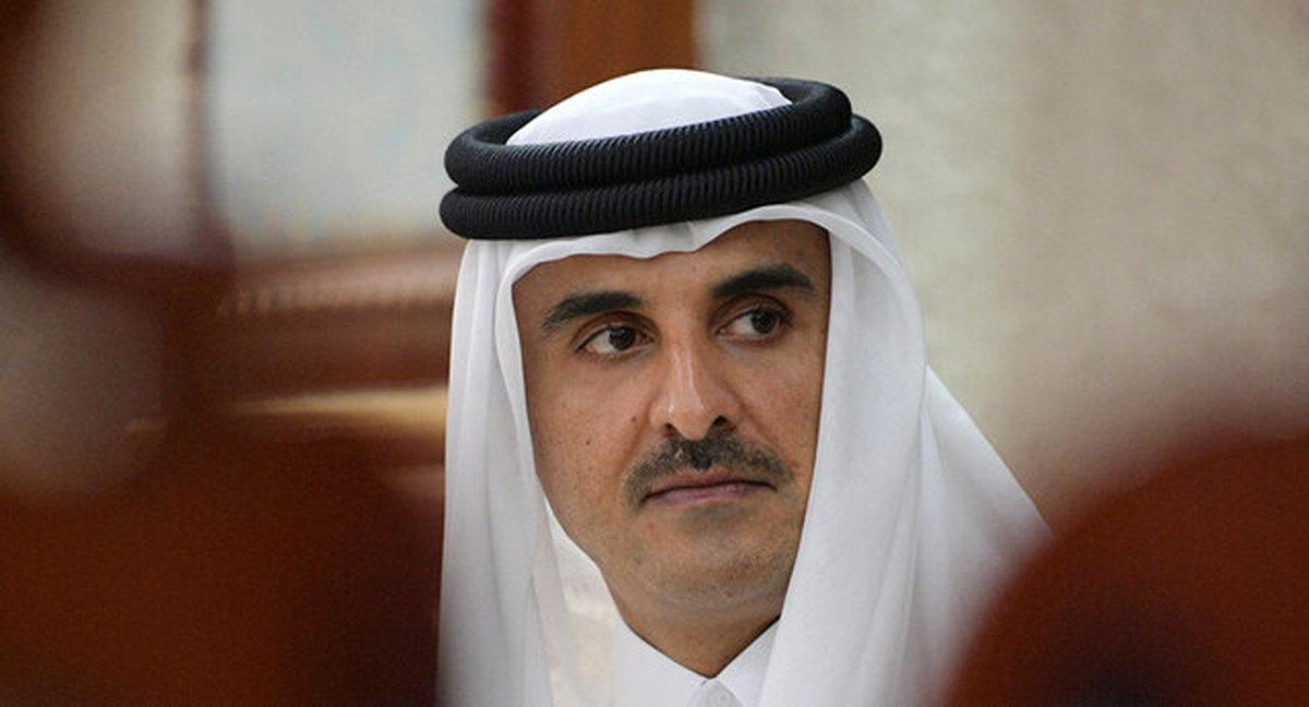 تاکید امیر قطر بر تداوم تلاشها برای توقف تجاوزات به فلسطینیها و مسجد الاقصی
