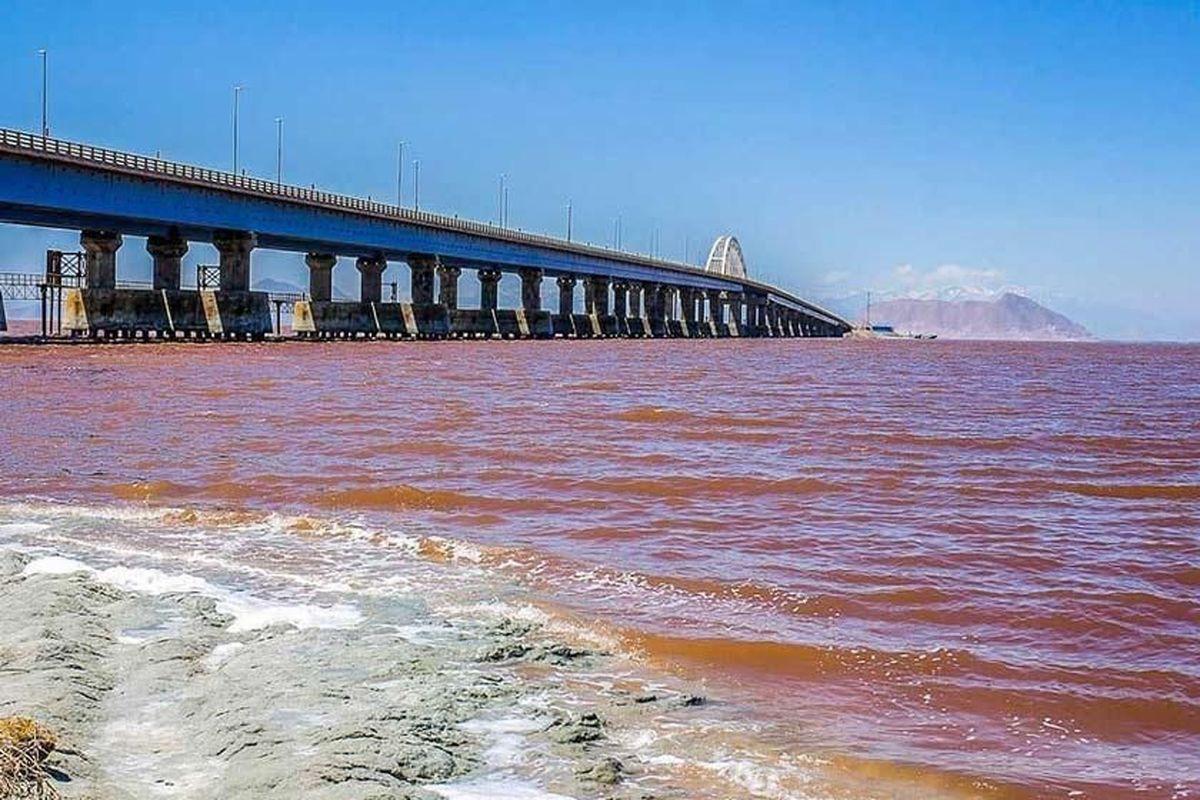 افزایش 8 برابری  آب دریاچه ارومیه