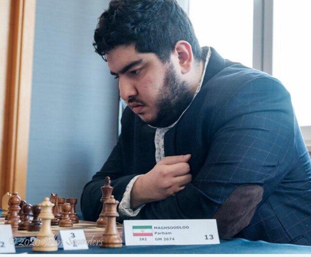 پیروزی مقصودلو مقابل مرد شماره ۲ شطرنج جهان در مسابقات آنلاین