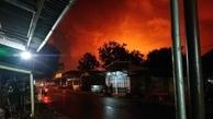 وقوع یک انفجار بزرگ در پالایشگاه نفت اندونزی