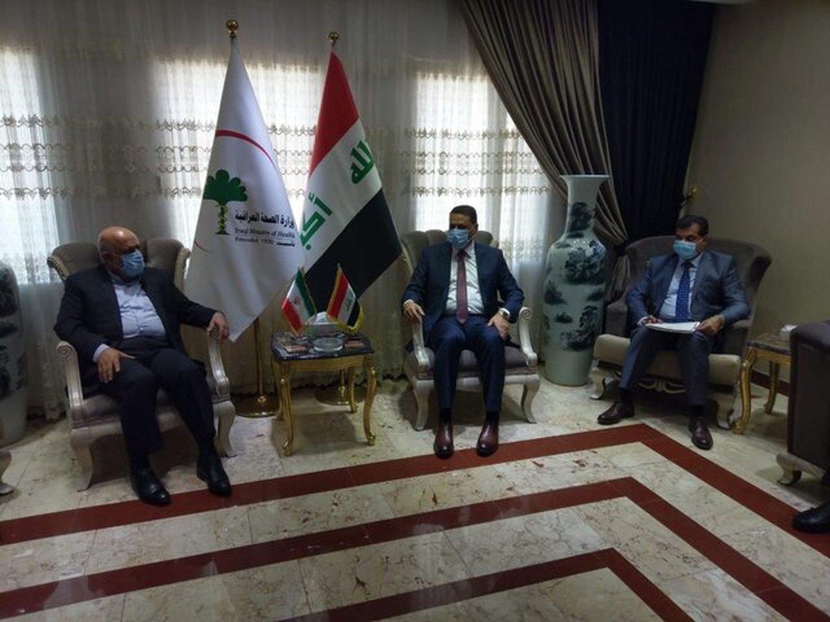 رایزنی سفیر ایران با سرپرست وزارت بهداشت عراق در مورد تردد زوار به این کشور