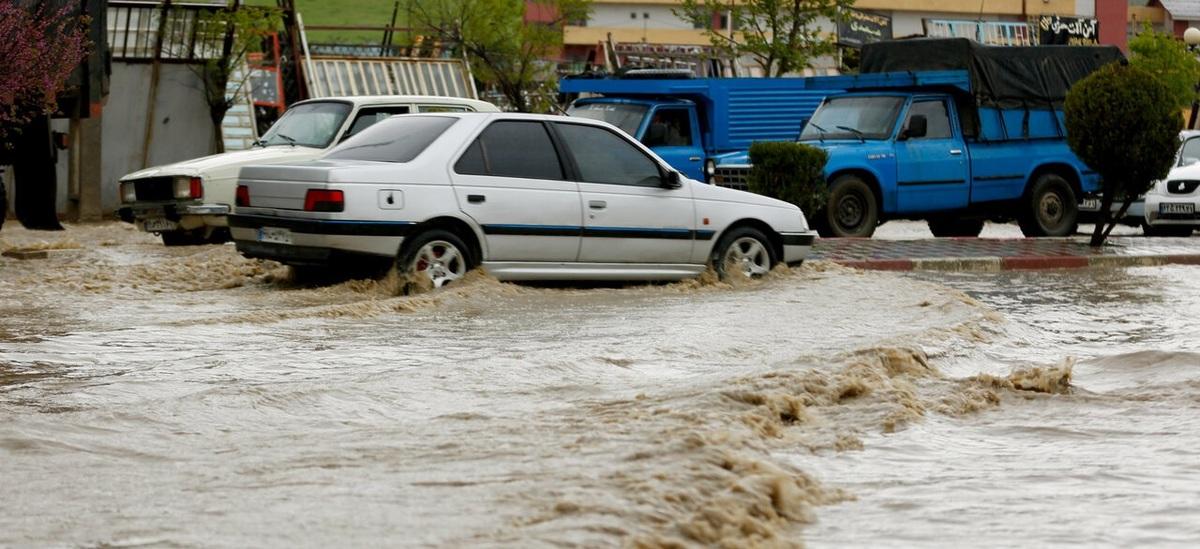هشدار جاری شدن روان آب و سیلاب در مازندران