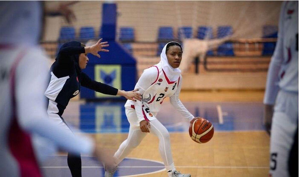 اولین زن آمریکایی در لیگ بسکتبال ایران