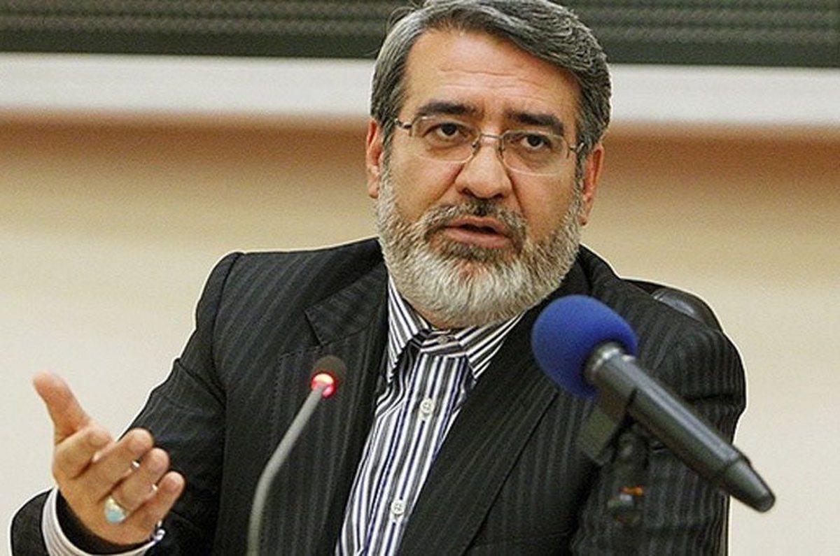 پاسخ رحمانی فضلی به یک نماینده: وزارت کشور در حوادث آبان ۹۸ قصوری نداشته