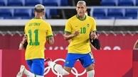 فوتبال المپیک توکیو در روز سوم       تیم ملی فوتبال برزیل  شکست خورد