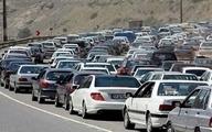 ترافیک در راههای منتهی به تهران سنگین است