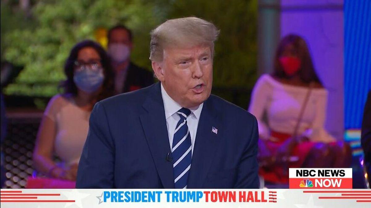 ترامپ قدرت را منتقل نخواهم کرد