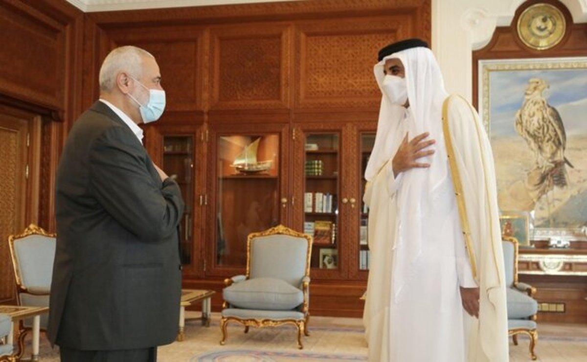 دستور امیر قطر برای اعطای ۵۰۰ میلیون دلار برای بازسازی غزه