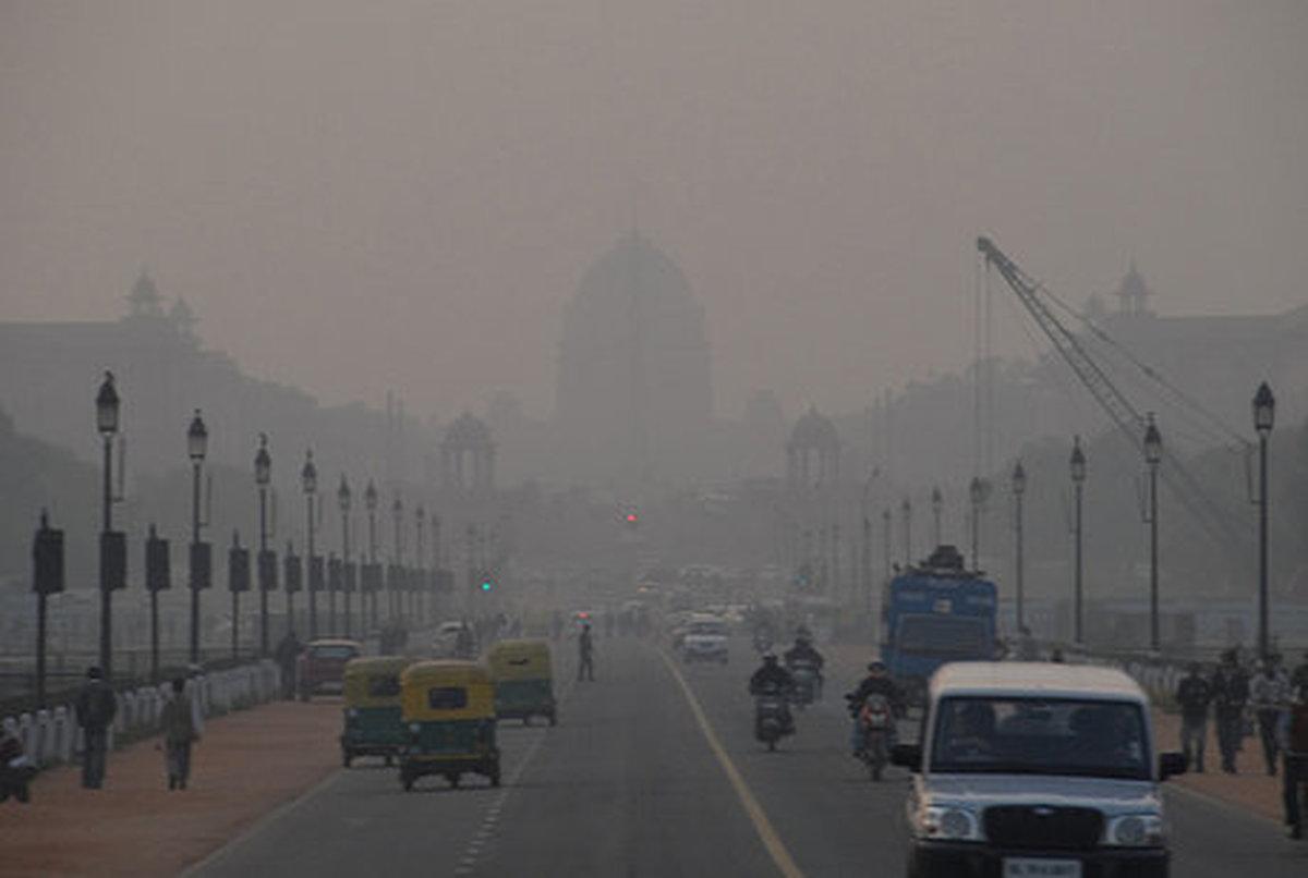 دهلی نو برای سومین سال متوالی آلوده ترین پایتخت جهان شد