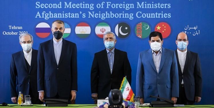 بیانیهای مشترک درنشست وزرای خارجه در تهران صادر شد