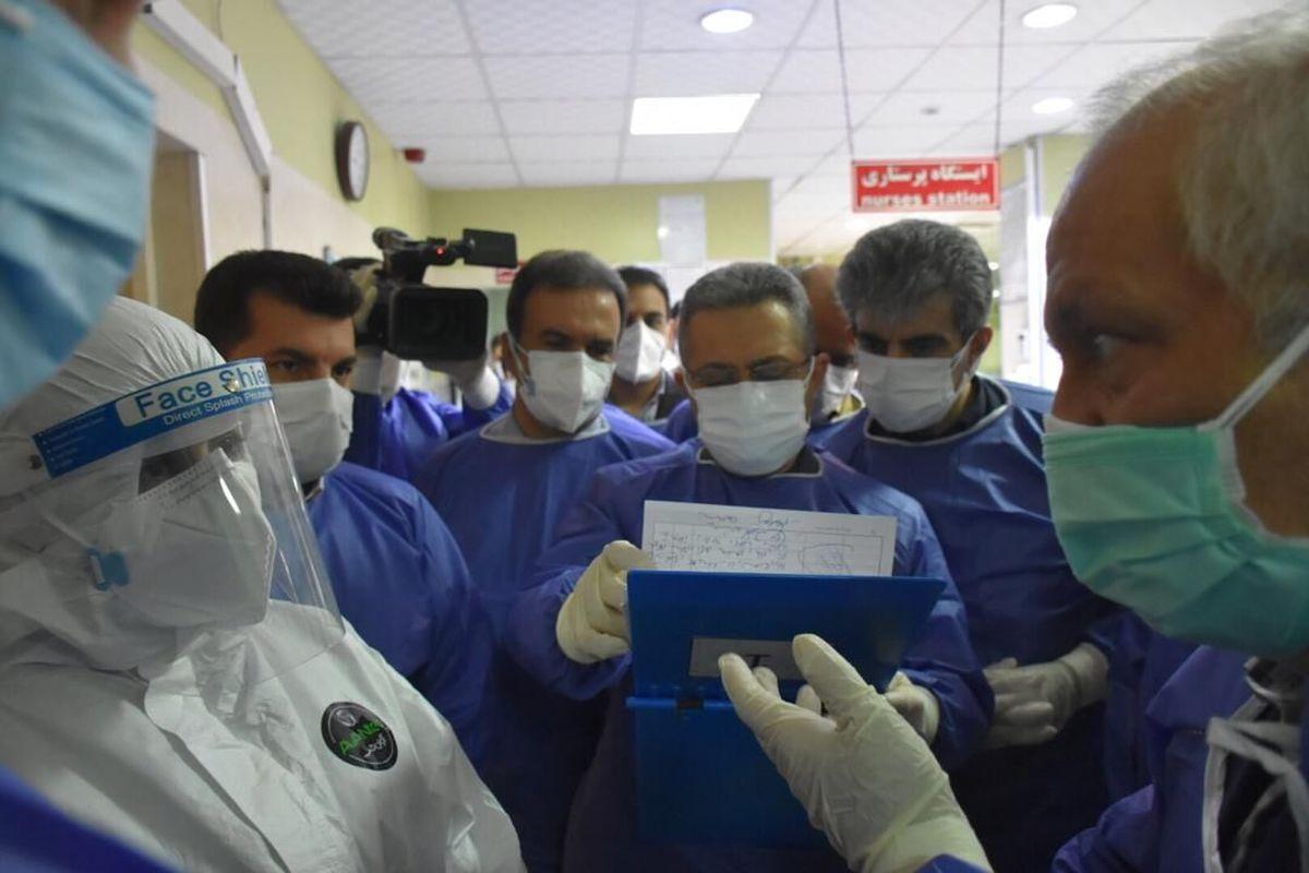 تعداد افراد کرونایی بستری در جنوب غرب خوزستان پنج برابر شد