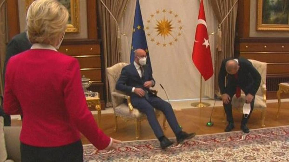 تنش میان اروپا و ترکیه به دلیل یک «صندلی»!