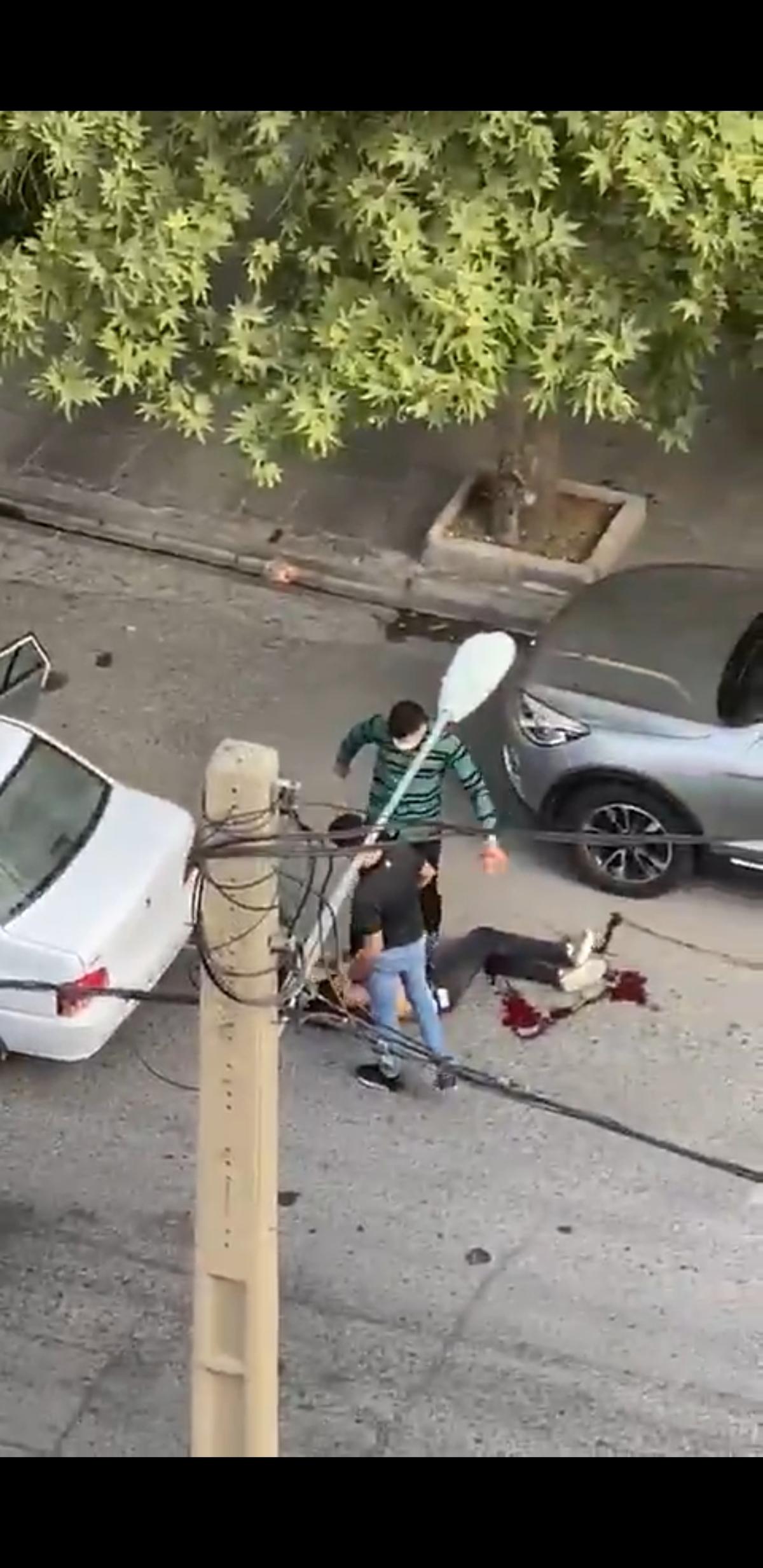 تیراندازی در سعادت آباد به خاطر یک دختر! + ویدئو