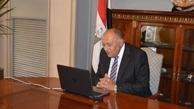 وزیران خارجه کویت و مصر  |  بررسی ازسرگیری پروازها بین دو کشور