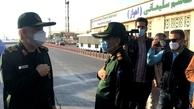 فرمانده کل سپاه پاسداران وارد خوزستان شد