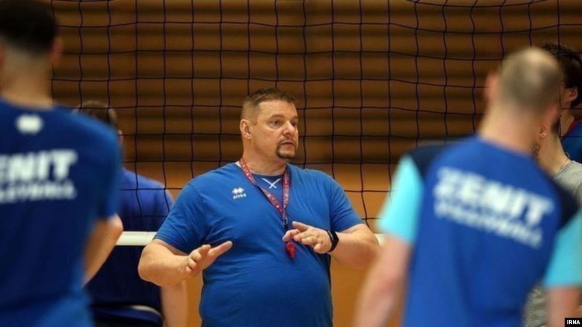 ولادیمیر آلکنو سرمربی تیم ملی والیبال ایران میشود