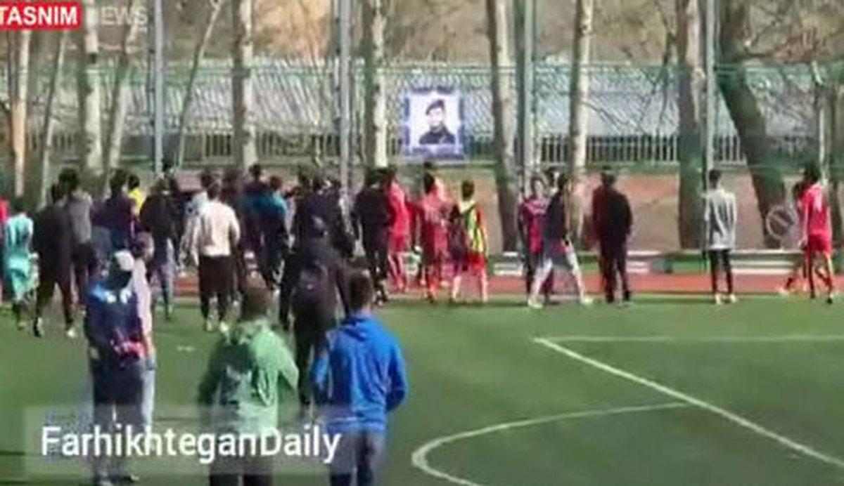 کتککاری در فوتبال تهران بر سر چه بود؟   علت کتک کاری در فوتبال معلوم شد