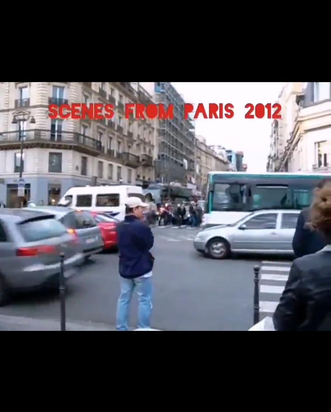 شاهکار شهردار پاریس در کنترل ترافیک  + ویدئو