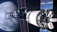 """تصاویر شگفت انگیز  از ایستگاه فضایی """"دروازه ماه"""""""