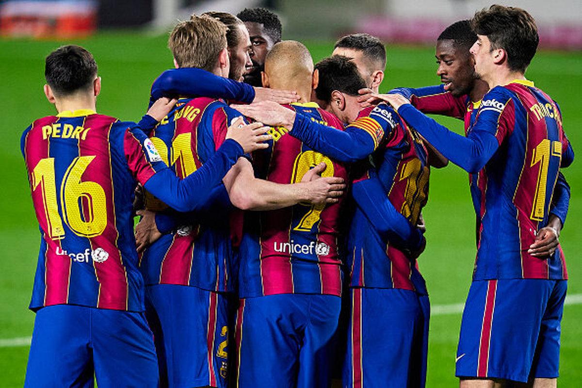 بارسلونا به جایگاه سوم جدول لالیگا بازگشت