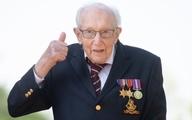 کهنه سرباز انگلیسی برای کمک مقابله با کرونا۳۲ میلیون پوندجمع آوری کرد
