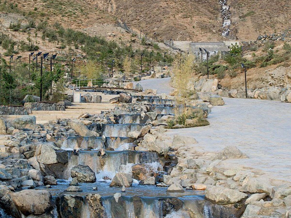 بلندترین آبشار مصنوعی ایران افتتاح شد