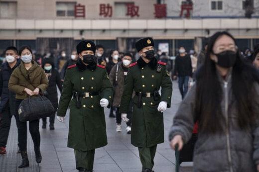 جنگنده های چینی در خدمت ساخت ماسک!