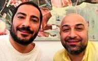 نوید محمدزاده با برادرش در قورباغه + عکس