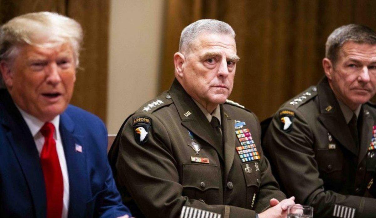 کتاب: ترس فرمانده ارتش امریکا از حمله اتمی ترامپ به چین