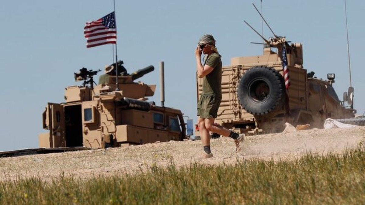 سانا: نیروهای آمریکایی ۲ غیرنظامی را در سوریه ربودند