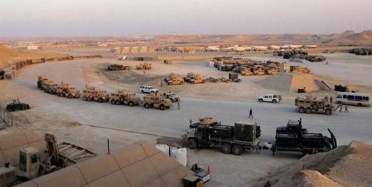 500 خودروی نظامی آمریکایی به پایگاه عینالاسد وارد شدند