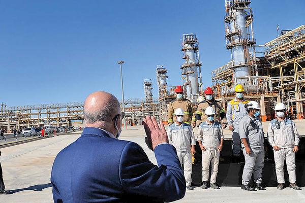 بهرهبرداری از بزرگترین هاب گازی غرب آسیا | پالایشگاه گازی بیدبلند خلیجفارس به بهرهبرداری رسید