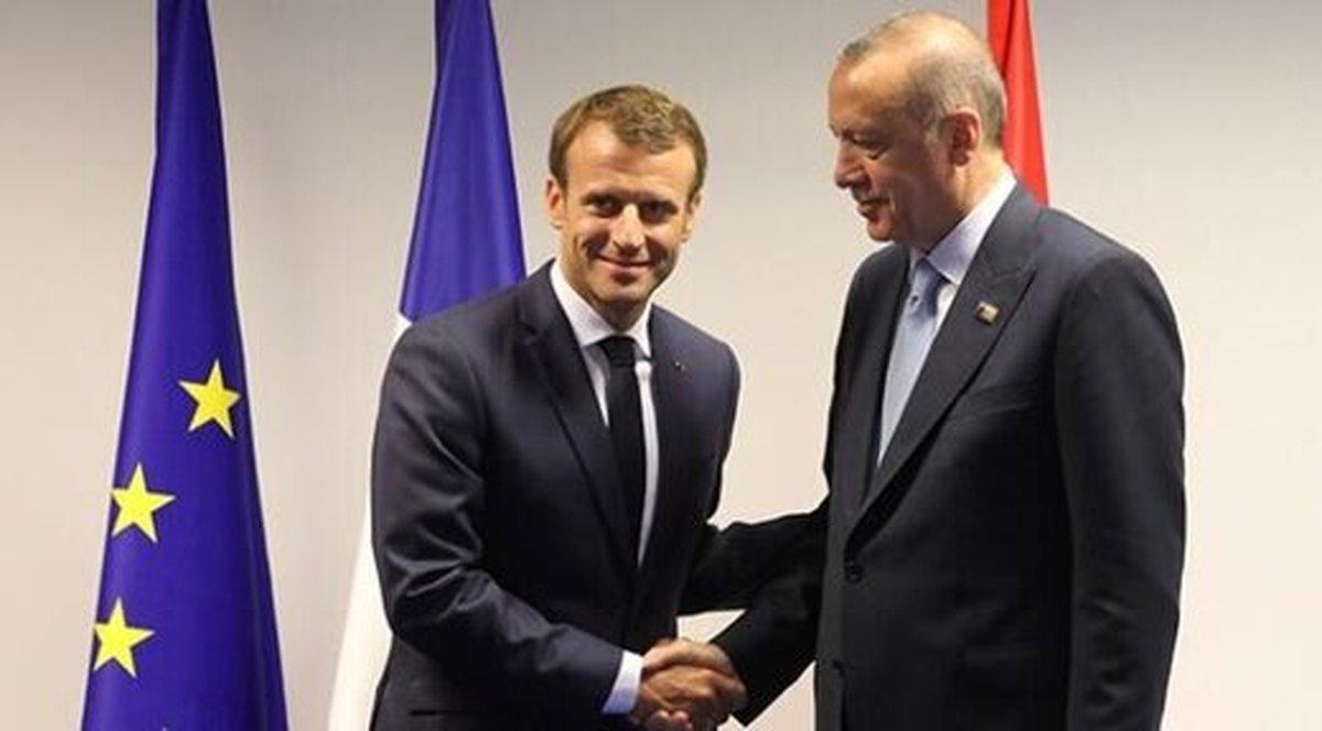 رئیس جمهوری فرانسه به اردوغان نامه نوشت