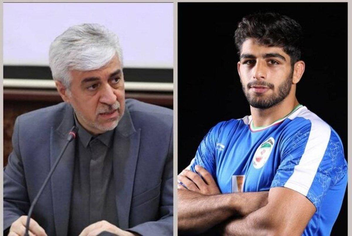 پیام تبریک وزیر ورزش و جوانان پس از مدال طلای محمد هادی ساروی
