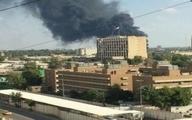 دو موشک به محوطه سفارت آمریکا در بغداد برخورد کرد