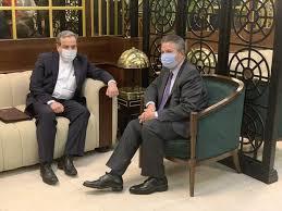 مناقشه قره باغ  |  دیدار عراقچی با معاون وزیر خارجه ترکیه