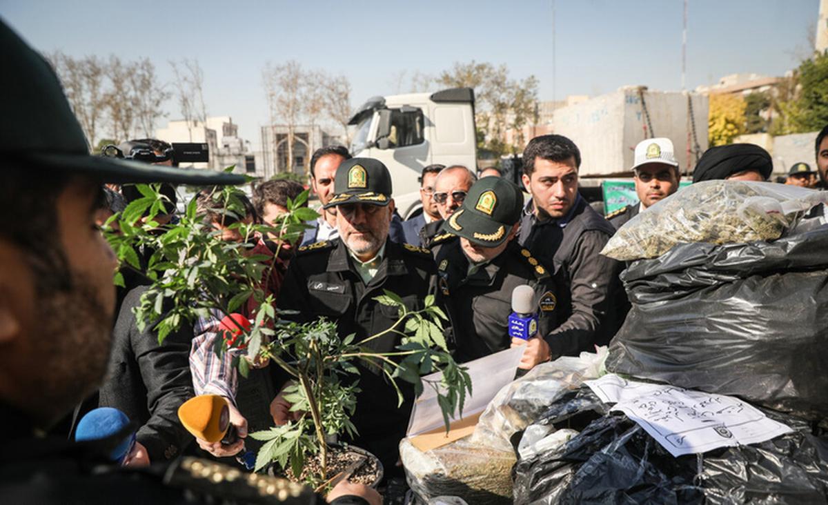 جمعآوری ۱۱۰۰ معتاد متجاهر و خردهفروش در تهران