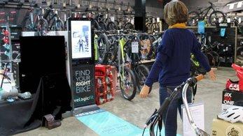 انتخاب دوچرخه مناسب سایز بدن با یک سیستم هوشمند