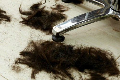 استفاده از موی سر برای پاک کردن لکههای نفتی