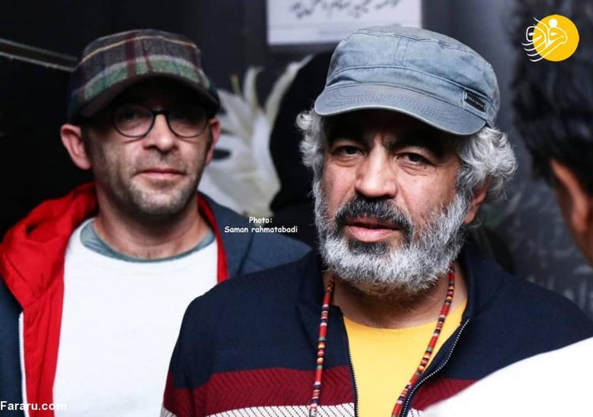 بازیگران در مراسم یادبود مظاهر مصفا در هتل لاله
