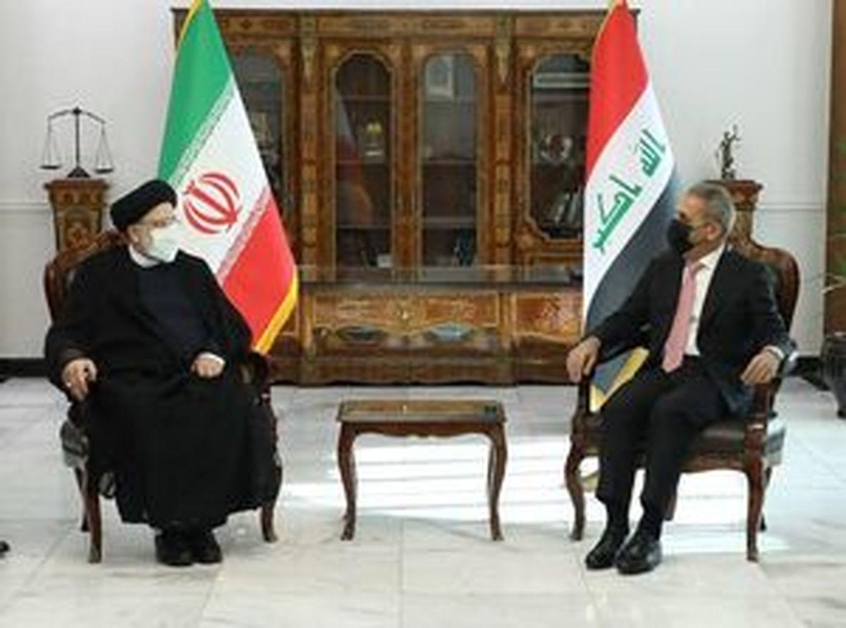 دیدار رئیس قوه قضاییه با نخست وزیر عراق