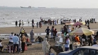 شیوع موج چهارم کرونا در بندرعباس+عکس| ساحل گردی کرونایی در بندرعباس