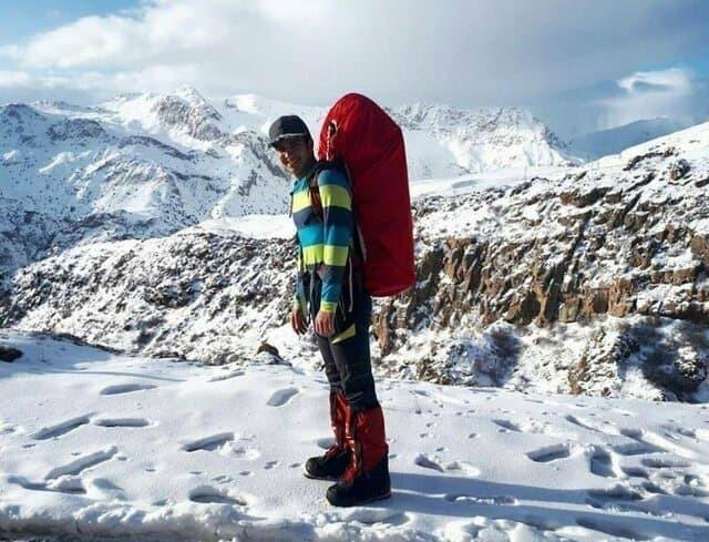 حادثه  |  پس از ۱۲ روز جست و جو در دماوند  پیکر بیجان کوهنورد اصفهانی پیدا شد