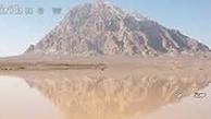 دریاچه ارنان یزد بعد از 36 سال جان گرفت